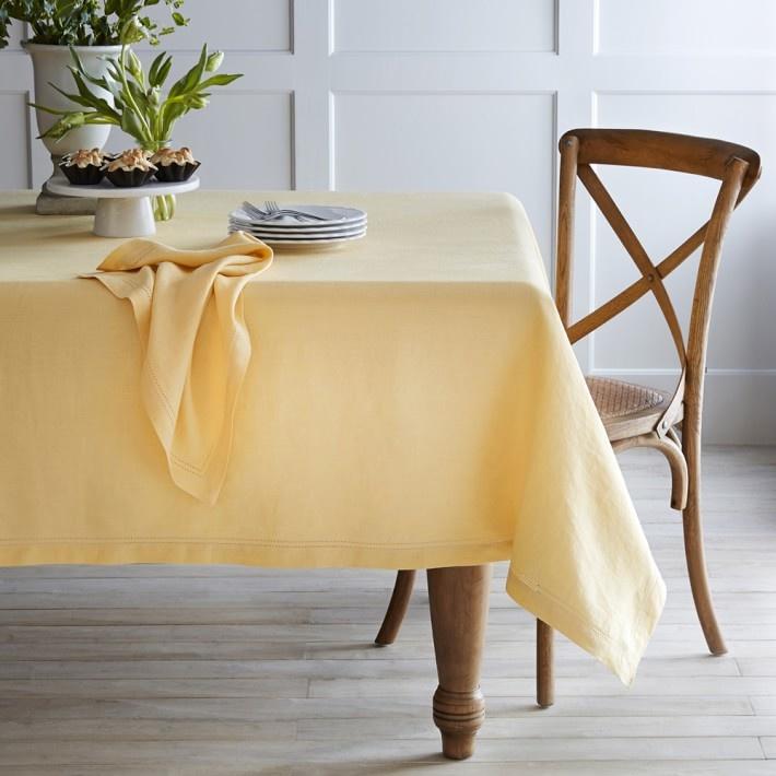 Khăn trải bàn Cotton - Màu đỏ, bócđô, vàng - K11.7