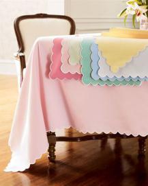 Khăn trải bàn Polyester - Các màu trơn - K11.8