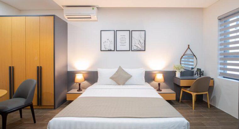 Kinh nghiệm bố trí phòng ngủ khách sạn đẹp, sang, chất lượng